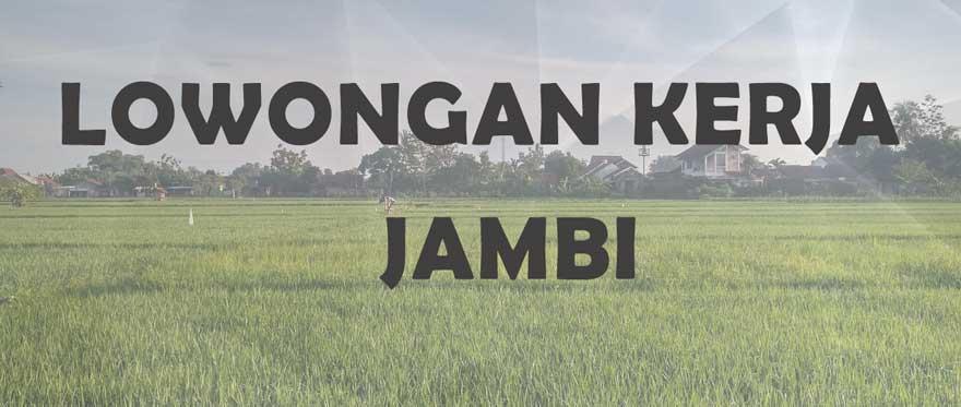 Situs Website Lowongan Kerja Jambi
