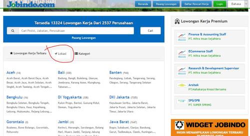Alamat Web Lowongan Kerja Bandar Lampung