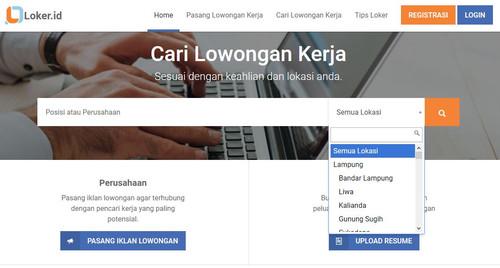 Situs Lowongan Kerja Bandar Lampung 2017
