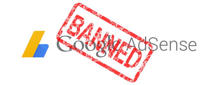 Penyebab Akun Google Adsense Dinonaktifkan