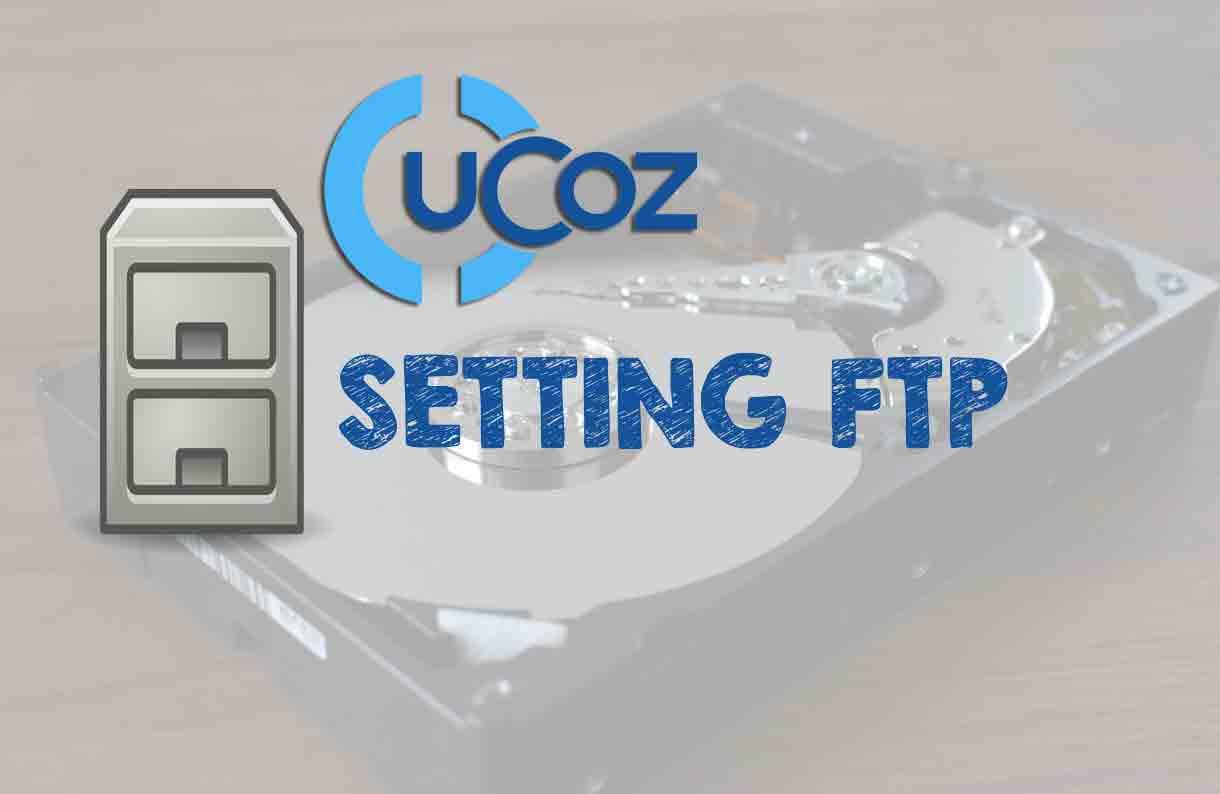 Setting FTP di Control Panel uCoz